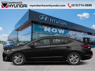 New 2020 Hyundai Elantra Preferred IVT  - Sweet Style - $76.31 /Wk for sale in Nepean, ON