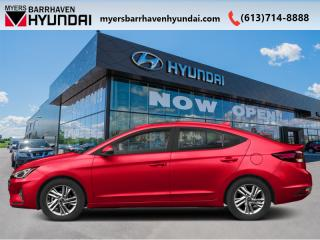 New 2020 Hyundai Elantra Preferred IVT  - Sweet Style - $123 B/W for sale in Nepean, ON