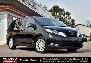 Used 2016 Toyota Sienna XLE AWD LIMITED GPS, DVD, DÉMARREUR À DISTANCE for sale in Pointe-Claire, QC