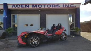 Used 2016 Polaris Slingshot SL SL BACK UP CAM, BLUETOOTH, LIKE NEW for sale in Hamilton, ON