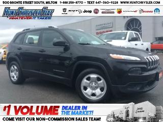 Used 2015 Jeep Cherokee SPORT | LOW KMS | CAM | COLD WEATHER!!! for sale in Milton, ON