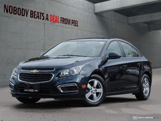 Used 2015 Chevrolet Cruze LT 1LT*USB*Aux*Fully Certified*Clean* for sale in Mississauga, ON