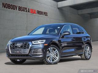 Used 2018 Audi Q5 2.0T*New Tires*Cam*Pwr Tailgate*Applecarplay* for sale in Mississauga, ON