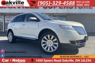 Used 2013 Lincoln MKX NAVI | PANOROOF | HTD VNTD SEATS | LEATHER for sale in Oakville, ON