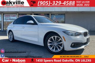 Used 2016 BMW 320i xDrive | B/U CAM | LEATHER | NAV | BT AUDIO for sale in Oakville, ON