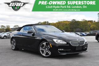 Used 2012 BMW 650i i (A8) - Power Top, 4.4L V8 Turbo, Backup Camera for sale in London, ON