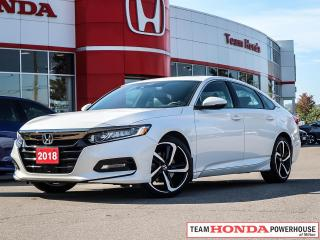 Used 2018 Honda Accord Sport for sale in Milton, ON