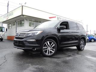 Used 2016 Honda Pilot Touring for sale in Vancouver, BC