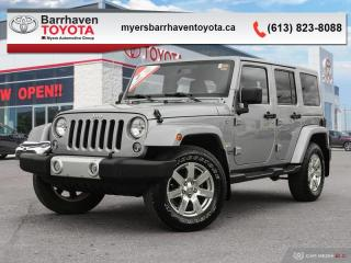Used 2015 Jeep Wrangler Unlimited SAHARA  - Cruise Control - $237 B/W for sale in Ottawa, ON