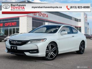 Used 2016 Honda Accord Coupe Touring  - Navigation - $169 B/W for sale in Ottawa, ON