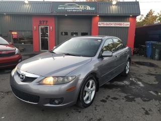 Used 2008 Mazda MAZDA6 4dr Sdn I4 for sale in Lemoyne, QC