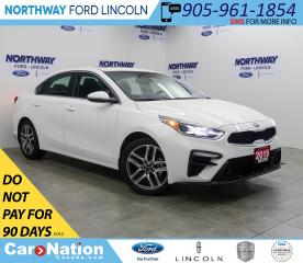 Used 2019 Kia Forte EX+ | HTD SEATS | SUNROOF | WIRELESS CHARGING | for sale in Brantford, ON