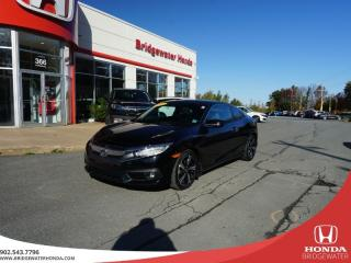 Used 2017 Honda Civic Touring Coupe Turbo - Only One Owner!! for sale in Bridgewater, NS