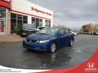 Used 2014 Honda Civic LX - Single Owner - 2 Year MVI! for sale in Bridgewater, NS