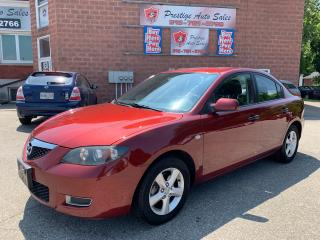 Used 2011 Mazda MAZDA3 HB SPORT GS/2.5L/6 SPEED/ONE OWNER/NO ACCIDENT for sale in Cambridge, ON