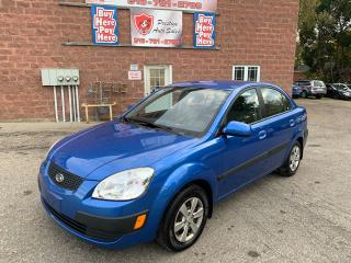 Used 2009 Kia Rio EX/1.6L/5 SPEED/NO ACCIDENT/SAFETY INCLUDED for sale in Cambridge, ON