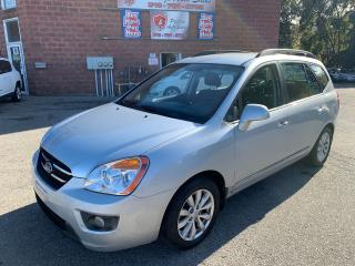 Used 2010 Kia Rondo EX/7 SEATS/2.4L/LOW KMS/SAFETY INCLUDED for sale in Cambridge, ON
