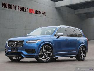 Used 2017 Volvo XC90 Hybrid T8 Phev R-Design*Plug-in*22 Whls*7 Pass*EV for sale in Mississauga, ON