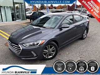 Used 2018 Hyundai Elantra GL APPLE CARPLAY, ANDROID AUTO for sale in Blainville, QC