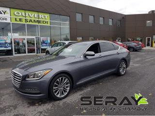 Used 2015 Hyundai Genesis 4dr Premium, MAGS, AWD, CUIR, NAV, for sale in Chambly, QC