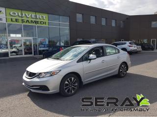 Used 2013 Honda Civic 4dr Man EX, 66204km, mags, toit, camera, a/c for sale in Chambly, QC