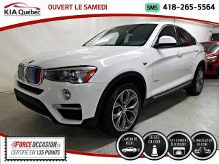 Used 2017 BMW X3 28I* AWD* CUIR* TOIT* CECI EST UN X4* for sale in Québec, QC