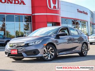 Used 2016 Honda Civic EX for sale in Milton, ON