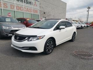 Used 2015 Honda Civic EX - TOIT - MAGS - BLUETOOTH for sale in St-Hubert, QC
