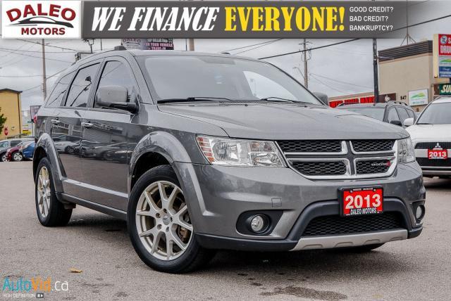 2013 Dodge Journey R/T | V6 | AWD | 7 PASS | SUNROOF | NAV | BACKUP