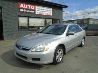 Used 2006 Honda Accord for sale in St-Hubert, QC