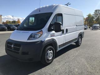 Used 2018 RAM ProMaster 2500 toit élevé 136 po for sale in Sherbrooke, QC