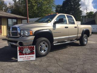 Used 2005 Dodge Ram 3500 SLT for sale in Glencoe, ON