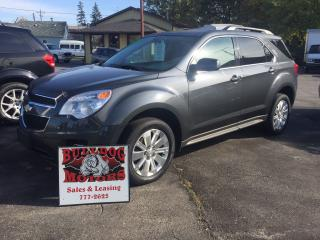 Used 2011 Chevrolet Equinox 2LT for sale in Glencoe, ON