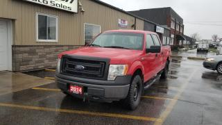 Used 2014 Ford F-150 4X4-5.0L-SUPERCREW-BACK UP CAMERA for sale in Tilbury, ON