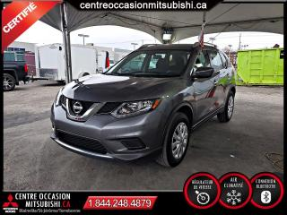 Used 2016 Nissan Rogue S + COMMODITÉ AU VOLANT + BLUETOOTH for sale in Blainville, QC