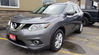 Used 2015 Nissan Rogue SV AWD-DVD-7 PASS THIRD ROW-NAV-SUNROOF-REAR CAMER for sale in Tilbury, ON