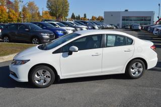 Used 2015 Honda Civic VENDU LX ***Démarreur à distance inclut* for sale in Longueuil, QC