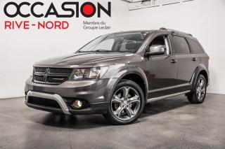 Used 2016 Dodge Journey Crossroad AWD 7.PASS+CUIR+NAVI+TOIT.OUVRANT for sale in Boisbriand, QC