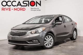 Used 2014 Kia Forte LX+ MAGS+SIEGES.CHAUFFANTS+BLUETOOTH for sale in Boisbriand, QC