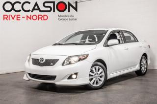 Used 2010 Toyota Corolla S TOIT.OUVRANT+MAGS for sale in Boisbriand, QC