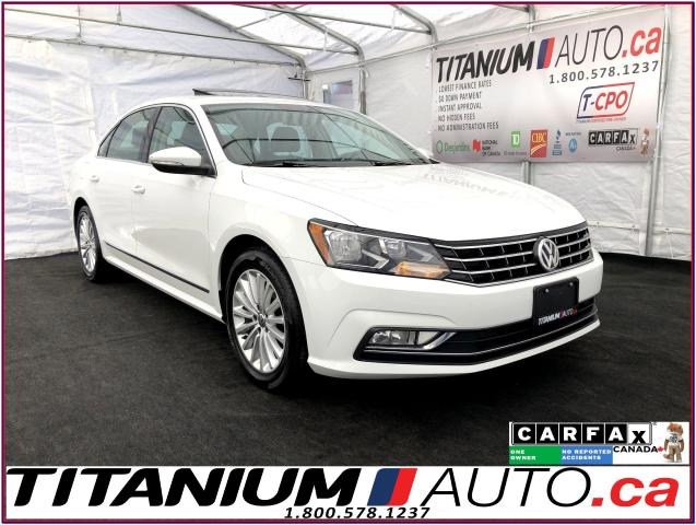 2016 Volkswagen Passat Comfortline+Camera+Heated Leather+Radar Cruise+App