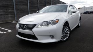 Used 2015 Lexus ES 350 ULTRA PREMIUM PEARL WHITE PANA ROOF for sale in Toronto, ON