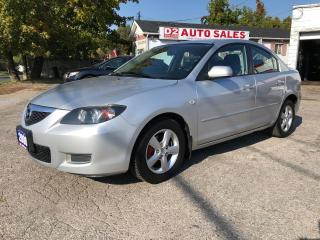 Used 2008 Mazda MAZDA3 Comes Certified/Automatic/Pwr Options/Gas Saver for sale in Scarborough, ON