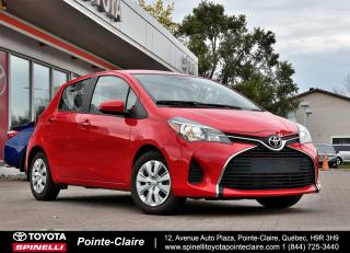 Used 2017 Toyota Yaris ***RÉSERVÉ***LE SUPER PROPRE! for sale in Pointe-Claire, QC