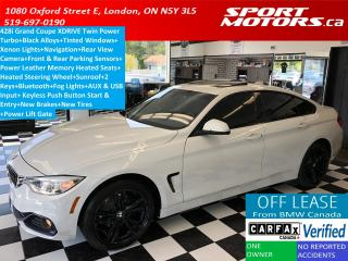 Used 2015 BMW 4 Series 428i xDrive GranCoupe+GPS+Camera+New Tires+Brakes for sale in London, ON