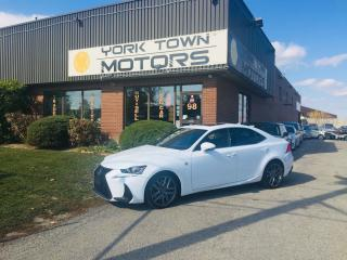 Used 2017 Lexus IS 300 F-Sport/AWD/RCam/RedInt/MoonRoof/H.Seats for sale in North York, ON