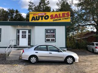 Used 2005 Honda Civic DX-G for sale in Ottawa, ON