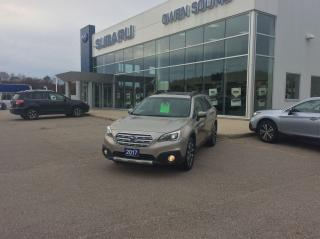 Used 2017 Subaru Outback 2.5I LIMITED W/TECH PKG for sale in Owen Sound, ON