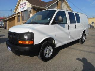 Used 2013 Chevrolet Express 2500 2500HD Cargo 4.8L Loaded 4Dr Divider ONLY 25,000Km for sale in Etobicoke, ON