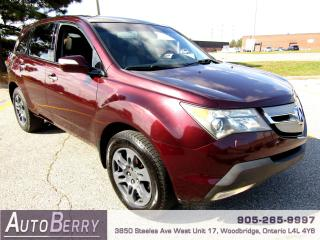 Used 2007 Acura MDX SH AWD - 7 PASSENGER for sale in Woodbridge, ON